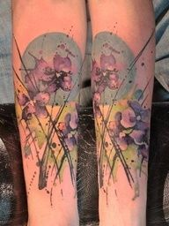 2017 trend Watercolor tattoo - 2017 trend Watercolor tattoo - Abstract Watercolor Tattoos | Abstract/Watercolor...