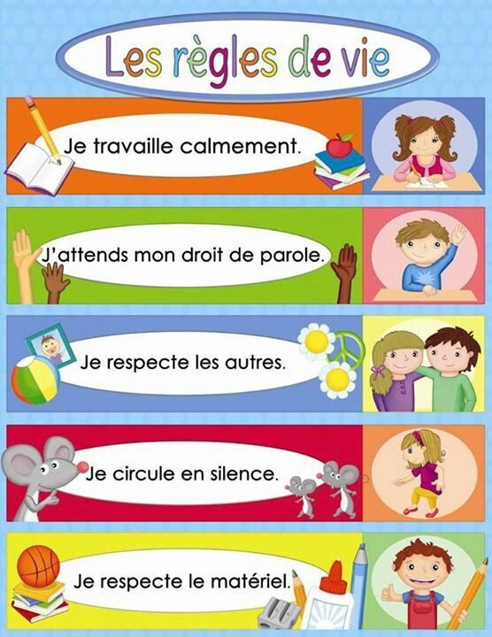 Affiche mignonne mais pas tres multi-culturelle.  Il n'y a que les enfants qui levent la main qui ont ne sont pas d'origine europeenne.