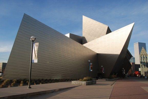 17 best images about daniel libeskind on pinterest for Denver art museum concept