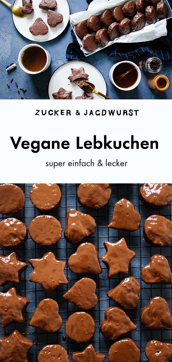 Einfache, vegane Lebkuchen
