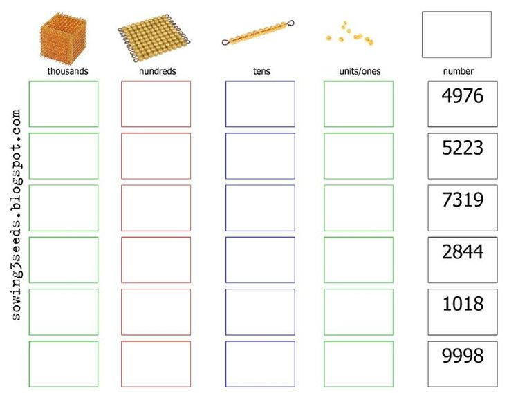 i like this set up! Montessori Math worksheet {kindergarten}