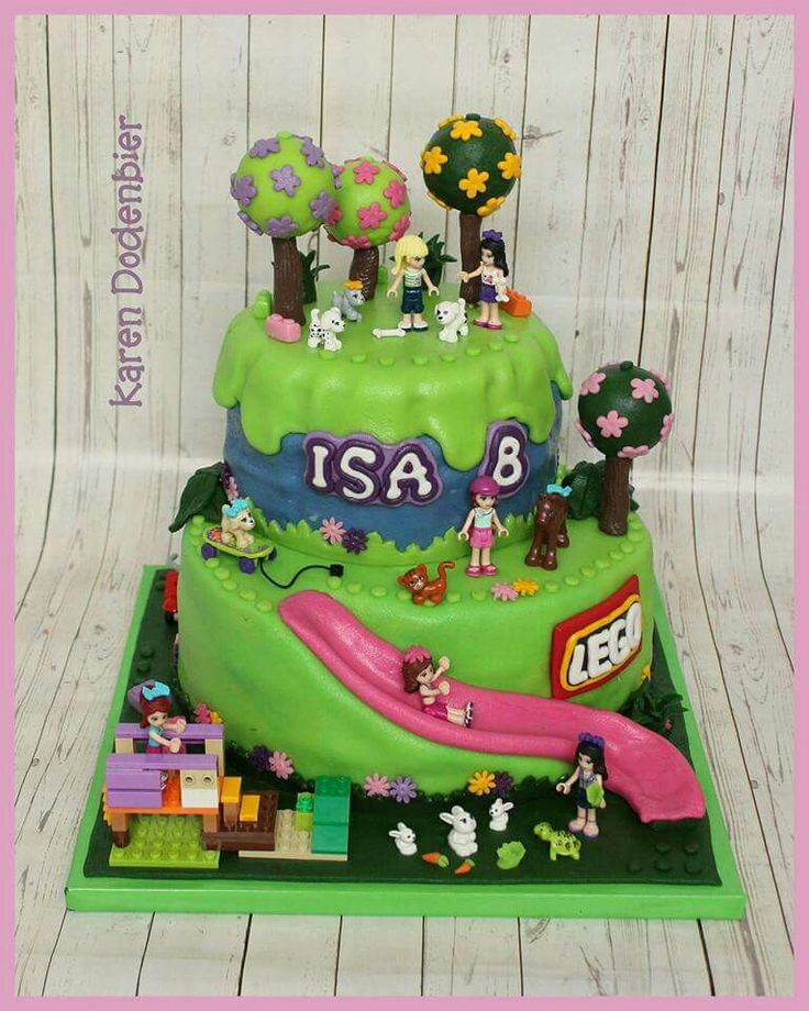 Birthday Cake Designs For Friends : The 25+ best ideas about Lego Friends Cake on Pinterest ...
