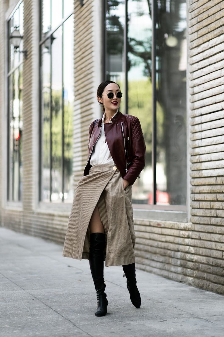 The Unexpected Way to Style Over the Knee Boots - The Chriselle Factor