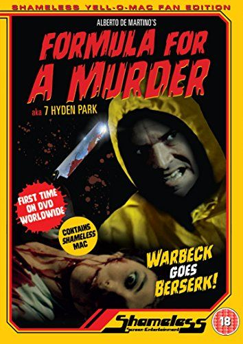 Formula For A Murder + Shameless Yellow Mac [DVD]
