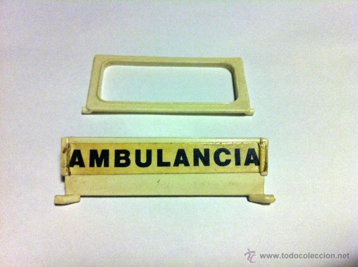 Puertas traseras de la ambulancia antigua de Famobil - Geobra 1974 - Piezas - Playmobil