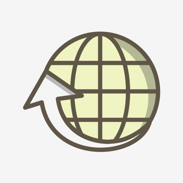 Vector Around The World Icon Vector And Png Globe Icon World Icon Vector