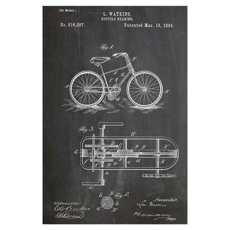 Bicycle Gear Wall Art