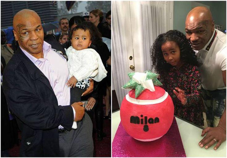 Mike Tyson's kid - daughter Milan Tyson