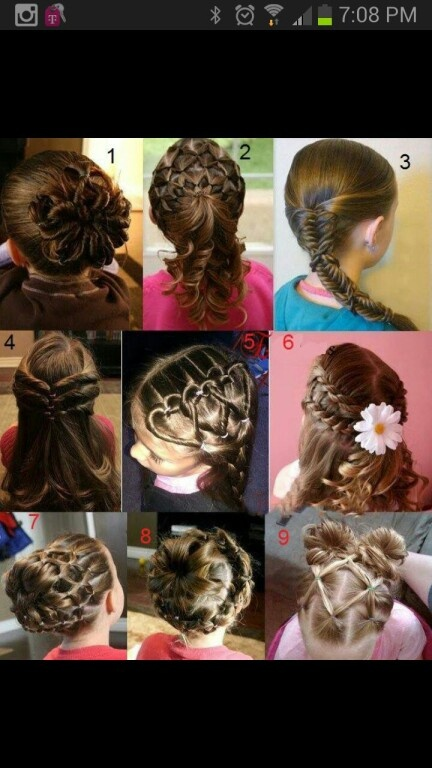Remarkable 1000 Images About Ribbons Amp Curls On Pinterest Little Girl Hairstyles For Women Draintrainus