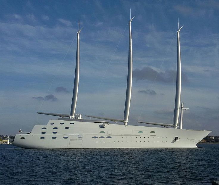 Top 13 Most Expensive Yachts in the World - Sailing Yacht A - Rich and Loaded