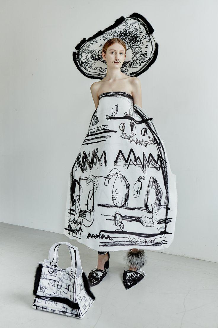 Edda Gimnes stilista Regno Unito Londra tessuti pop estetica eclettica   Lancia Trendvisions