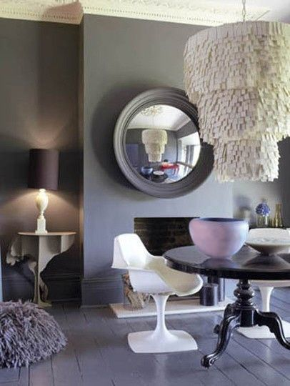 Chic wall color