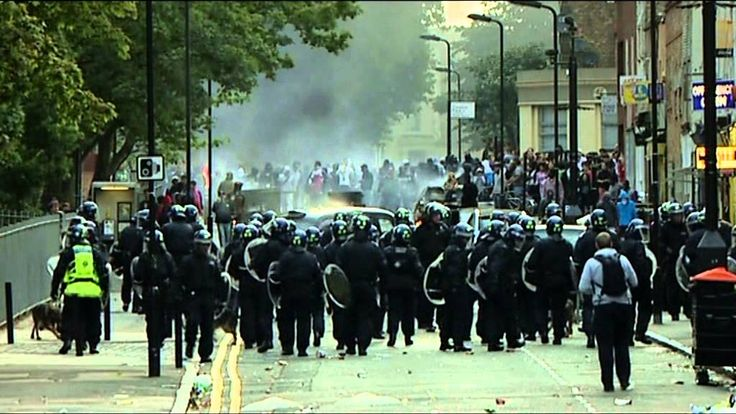 The Riots In Their Own Words - The Police