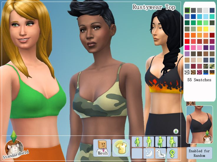 Disgruntled bikini girls