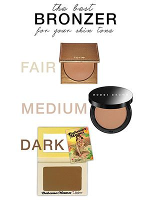 Best bronzer for every skin tone