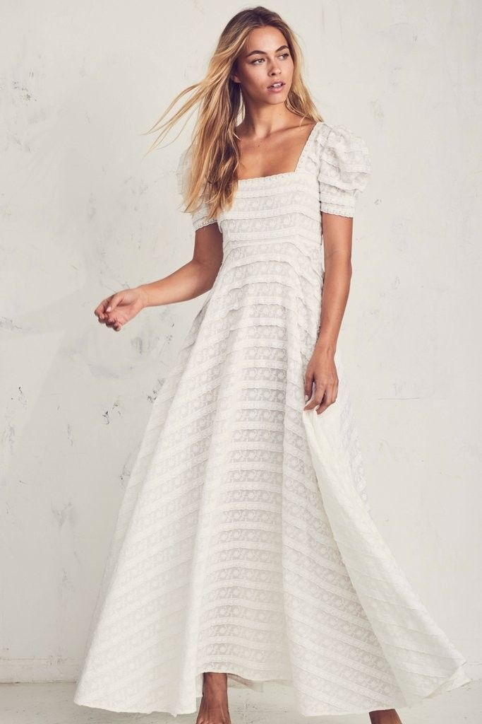 A Hippy Chic Garden Wedding Inspired By Fab Floral Bridesmaids Dresses Green Wedding Shoes In 2020 Dresses White Dress Summer Casual Fancy Wedding Dresses
