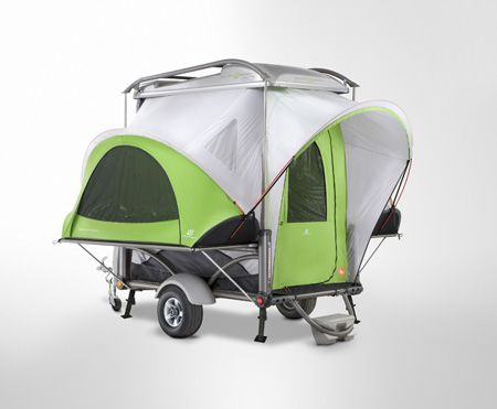 Sylvan Sport Go camping and travel trailer.