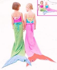 mermaid towels