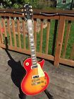 1980 Gibson Les Paul Deluxe with chainsaw case; great sunburst mini humbuckers
