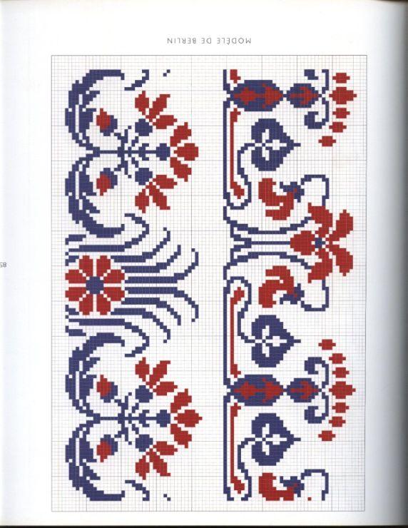 Gallery.ru / Фото #1 - bicolores a broder - miroslava388