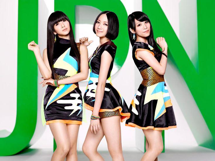 Perfume, a Japanese band. (left-> kashiyuka, nocchi and a-chan