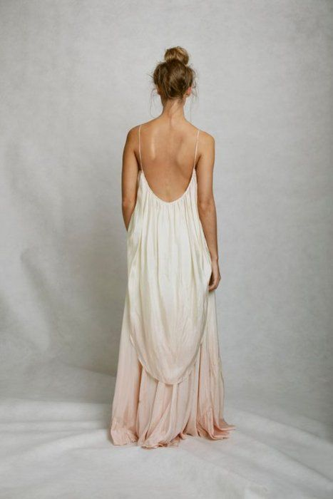 Bohemian-esque dress. So pretty
