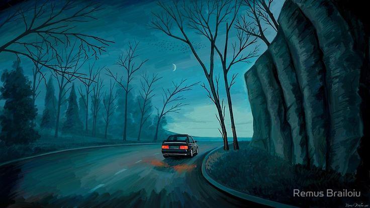 """Night Ride"" Photographic Prints by Remus Brailoiu 
