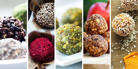 Basrecept för nötbollar  2,5dl nötter2 dl torkad frukt (aprikos, tranbär, dadlar el.dyl)1dl kakao