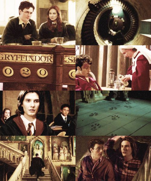 The Marauders : Padfoot (Ben Barnes) and Prongs (Aaron Johnson) ... IF ONLY!!! My heart is soaring at the idea.