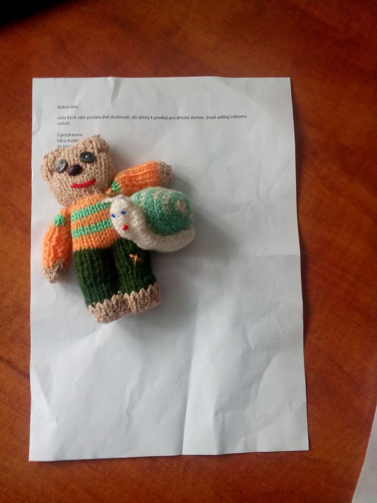 Medvídek a šnek (Věra Kolářová)