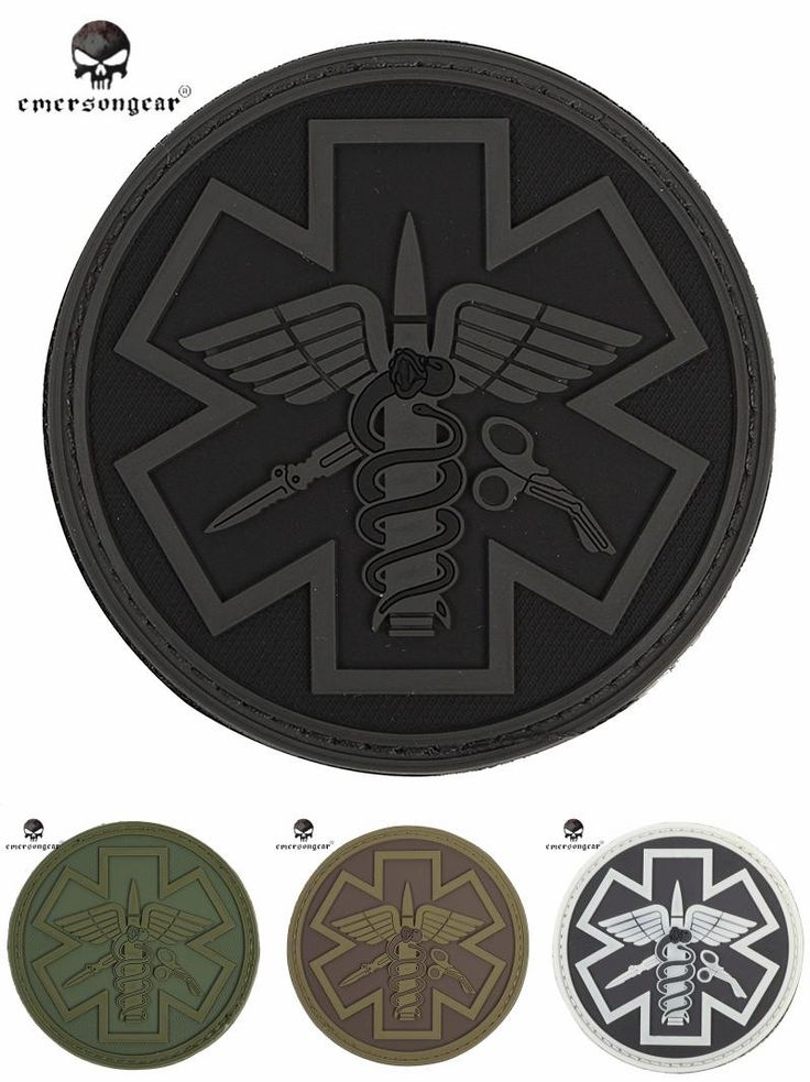 [Visit to Buy] Emersongear EM5482 Airsoft Hunting Combat Paramedic PVC Patch Outdoor Tactical Military Durable Embroidery Patch Accessory #Advertisement