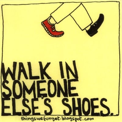 walking in somebody elses shoes Download this swingset mamas song about ability awareness, diversity and inclusion on itunes now:.