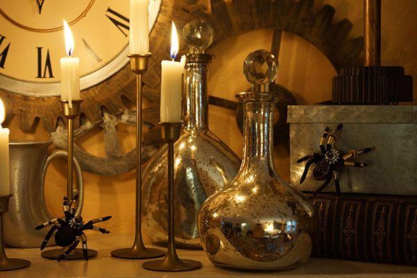 Diy steampunk halloween decorations home halloween and for Home depot halloween decorations