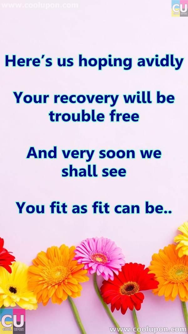 50 Inspiring And Funny Get Well Soon Quotes And Poems For Your Family Get Well Quotes Get Well Soon Quotes Get Well Soon