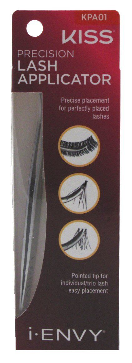 I Envy by Kiss Precision Lash Applicator KPA01. 1 Piece. Pointed Tip For Easy Placement,. Precise Placement.