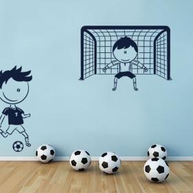 Vinilo Decorativo Fútbol Infantil
