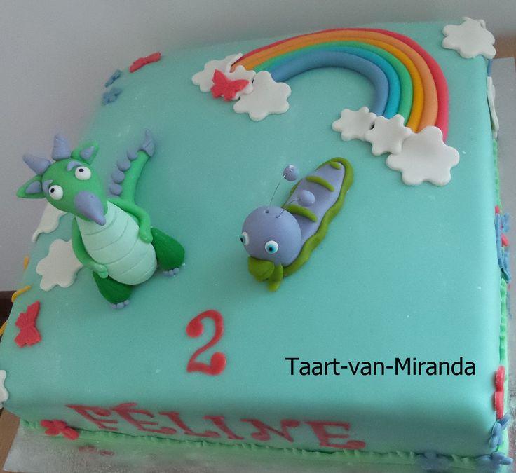 Baby Tv Taart