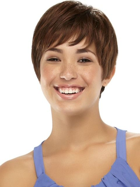 Wondrous 1000 Images About Short Haircuts For Round Faces And Thin Hair On Short Hairstyles For Black Women Fulllsitofus