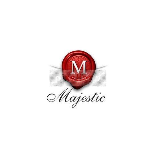 Majestic Wax Stamp 3D Logo 3D-160 - pixellogo