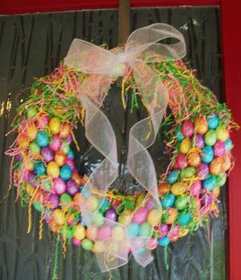 Vanilla Bean, Happy Spring, Beans, Wreath Idea, Easter Wreaths
