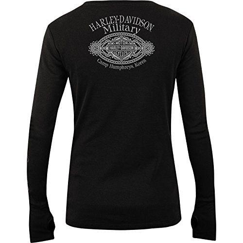 ecc9db0f nice Harley-Davidson Women's Long-Sleeve Tee - Camp Humphreys | Worn Banner