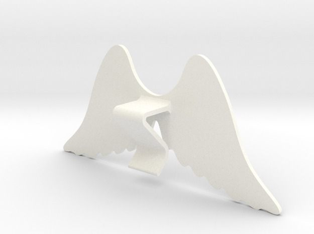 Mug & glass accessories wings 4 3d printed Accessories For Your Home White Strong & Flexible Polished - https://www.shapeways.com/model/2758955/mug-glass-accessories-wings-4.html?materialId=6