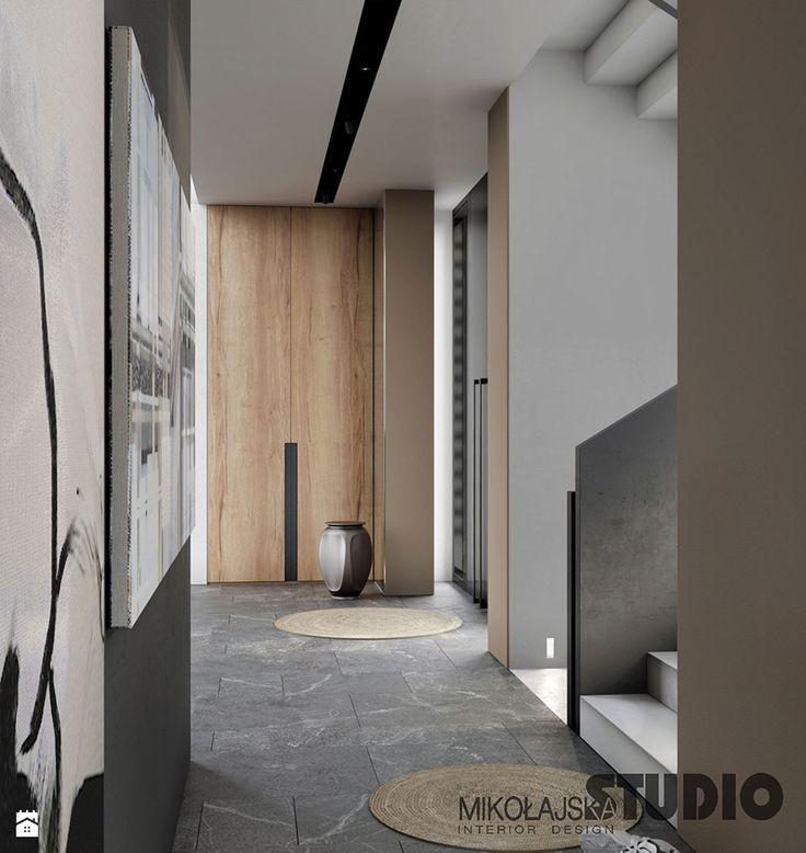 nowoczesny korytarz - zdjęcie od MIKOŁAJSKAstudio - Hol / Przedpokój - Styl Nowoczesny - MIKOŁAJSKAstudio