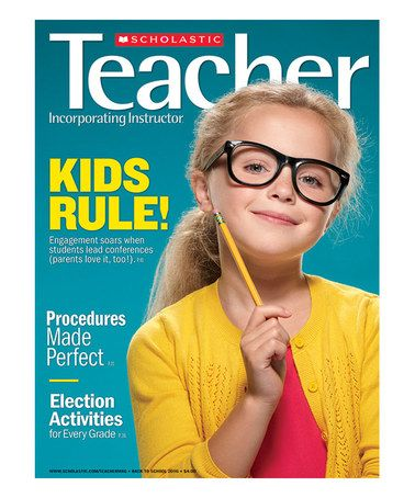 This Scholastic Teacher Magazine Subscription is perfect! #zulilyfinds