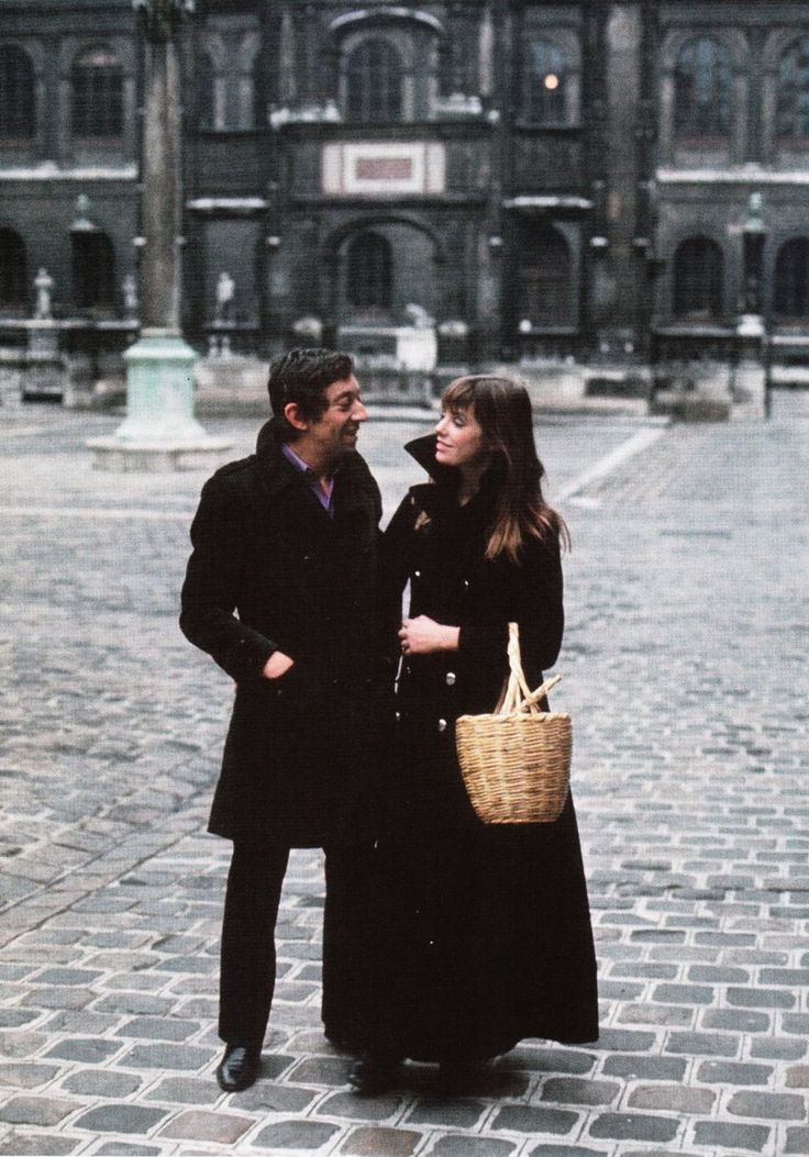 Follow Rent a Stylist http://pinterest.com/rentastylist/ Serge Gainsbourg & Jane Birkin.