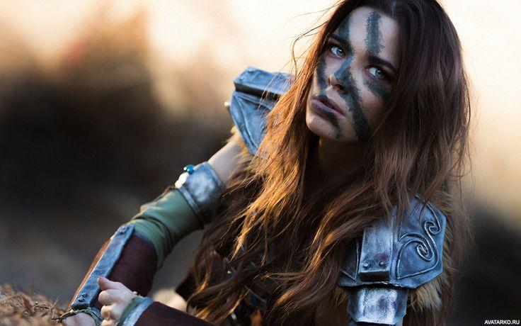 Картинка с Эйлой Охотницей из игры The Elders Scrolls ...