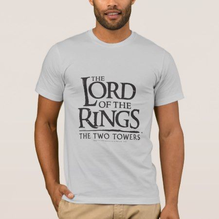 LOTR Stacked Logo T-Shirt - tap, personalize, buy right now!