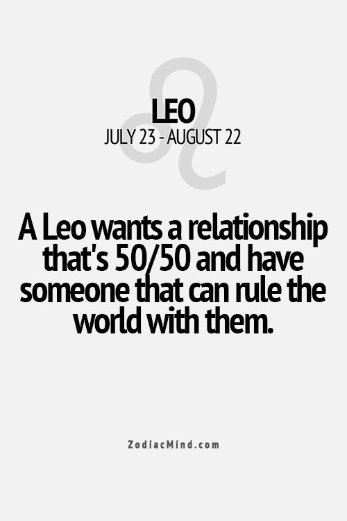 relationship rules quotes leo