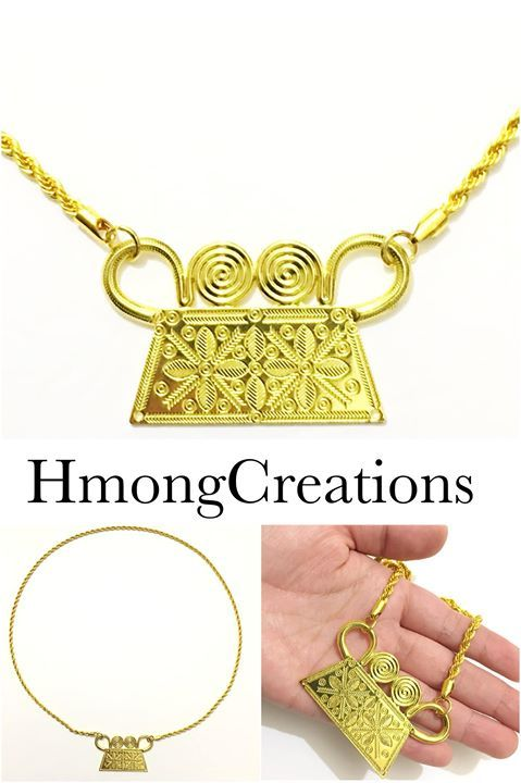 Untitled | Photos from Hmong Creations in 2019 | Gold necklace
