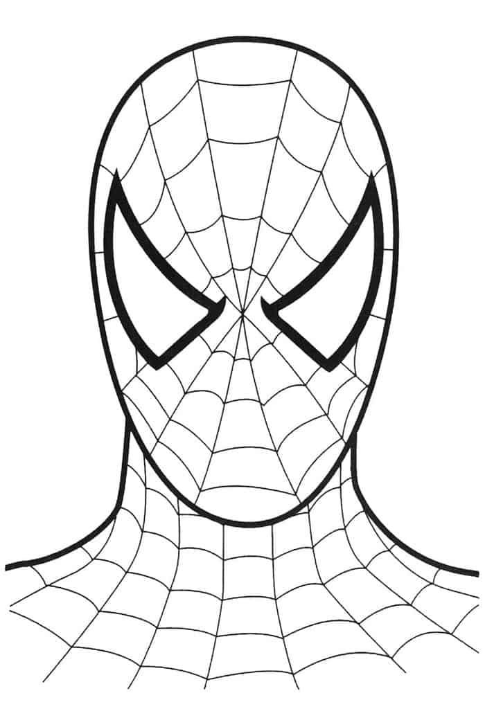 Spiderman Mask Coloring Pages From Spiderman Coloring Pages Printable The Spiderman Is A Well Known Supe Spiderman Coloring Spiderman Mask Lego Coloring Pages
